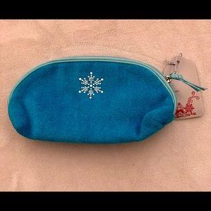 BATH & BODY WORKS SPA Zipper Pouch Christmas